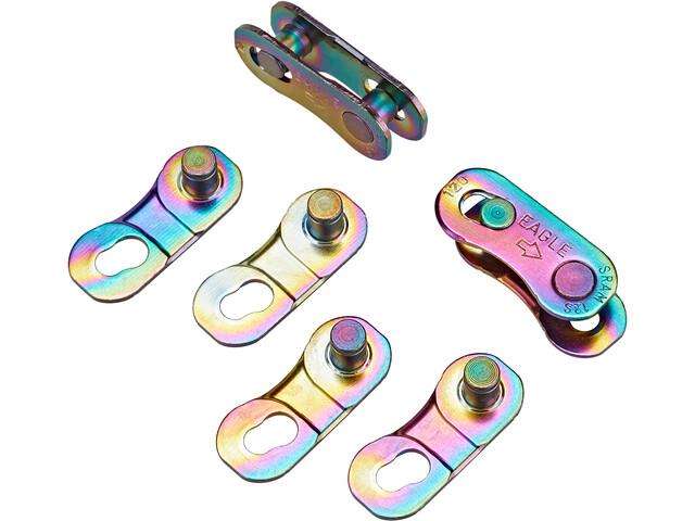 SRAM PowerLock 12 versnellingen 4 stuks, rainbow
